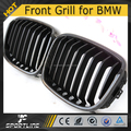 Carbon Fiber+ABS F20 Front Car Grille Car Mesh Grill Fit for BMW F20 11-13