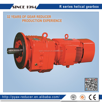 R series helical gear 4: 1 ratio gearbox