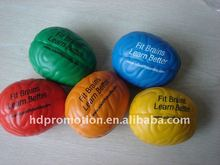 PU brain stress ball