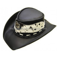 #VA1599 leather cowboy hat