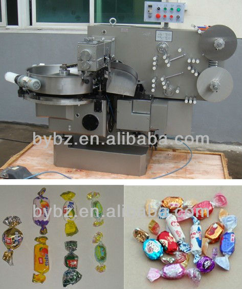 YB-800 Automatic Toffee Candy Double Twist Packing Machine