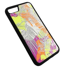 Fabric 2 in 1 PC + TPU Shock proof smart phone accessory phone case for iPhone 7