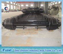 China FUWA type 14T 16T heavy lift axle for trailers with standard size