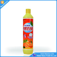 Dish soap / dish washing liquid for food cleaning and washing dishes