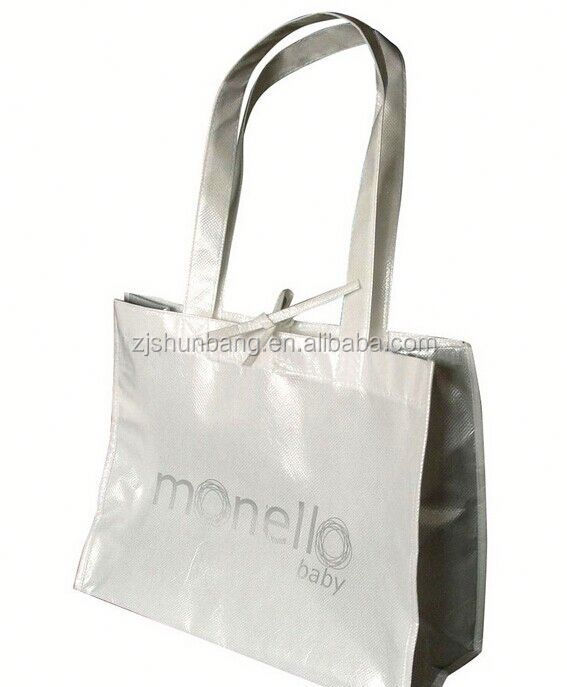 promotion compact reusable shopping bag crossbody non woven bag waterproof promotion compact reusable shopping bag