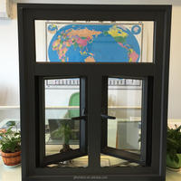 Aluminum casement window for all kinds of building
