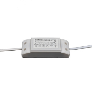 3w 5W 9v18V 280mA pass CE triac silicon control led dimmable driver for candle bulb light and cob light
