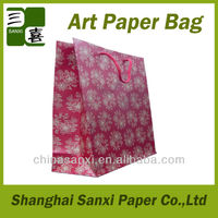 White paper carry bags with handle