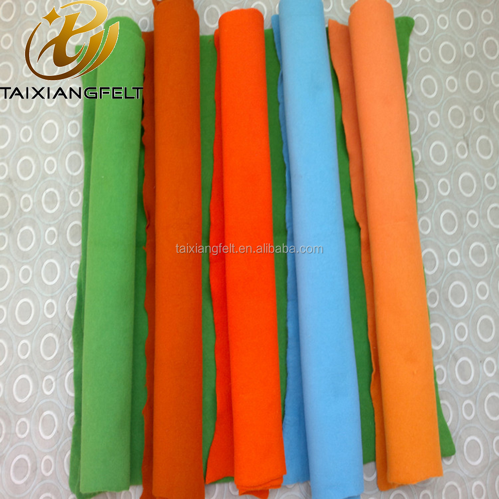 Multi Color 100% Pure Wool Felt Fabric/Wool Fabric Sheets/Wool Fabric Rolls