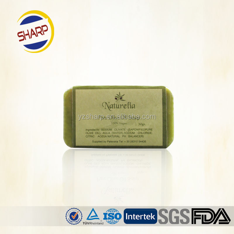 Promotional natural organic hotel soap,one-time bath soap