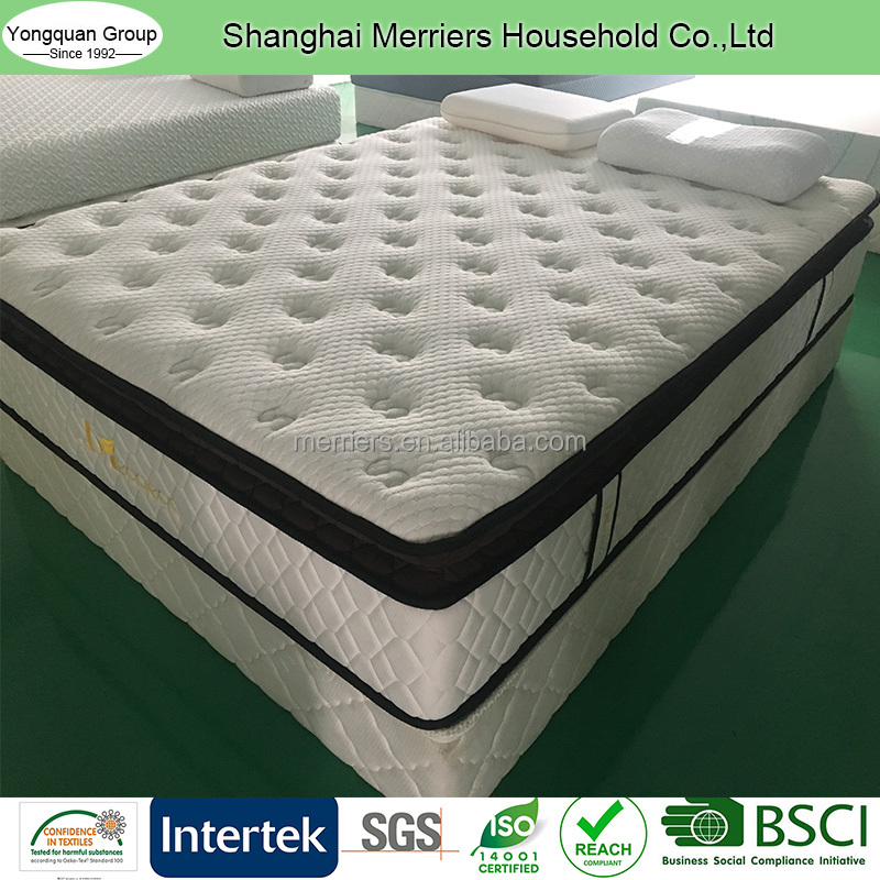 Two-zone Pocket Spring Mattress with Cotton Knitted Fabric - Jozy Mattress | Jozy.net