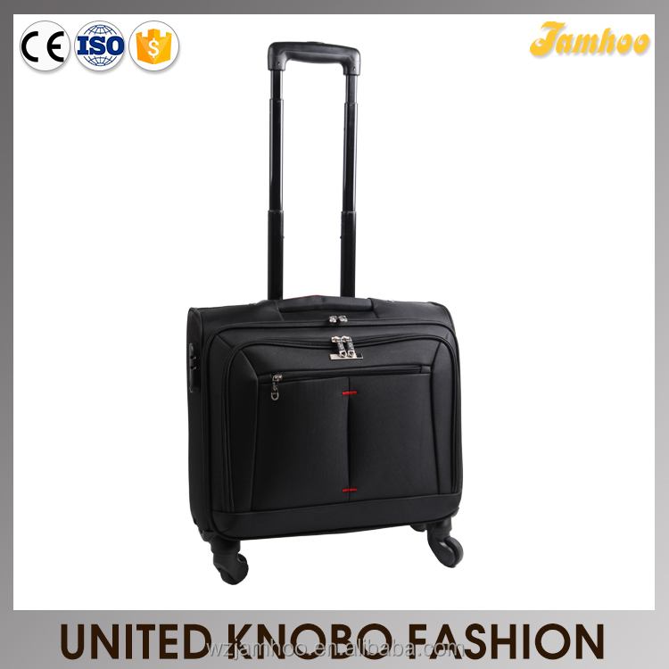 1680D Laptop trolley rolling luggage laptop bag