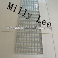 direct factory stainless steel smooth sideroad walkway drainage trench safety flat bar flooring grating