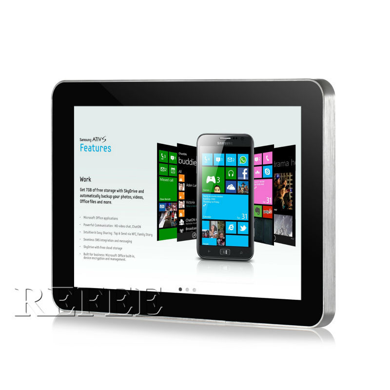 "wall mount android tablet poe,10"" quad core all in one android,tablet with rj45"