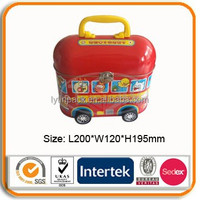 Bus shaped tin box for packaging
