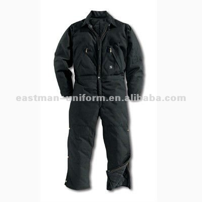 winter mens cheap overalls work clothes/men designer overalls work clothing/black winter working overalls for men