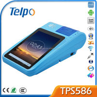 Telpo Hot sale New PAndriod Pos TPS586 Brand name PDA Android Barcode Scanner PDA Restaurant Electronic Cash Register