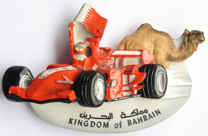 F1 souvenirs magnets,resin camel fridge magnets