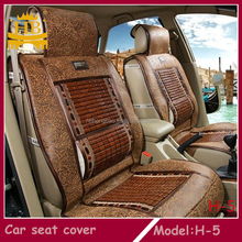 Bamboo new design wood bead pu car seat cover