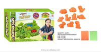 Soft coloured sand play , simple mold beach sand sale