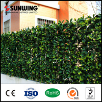 home decoration UV protected artificial boxwood leaf hedges