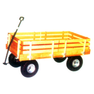 Wooden Tools Cart for Gardener