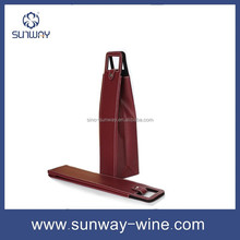 Wine Bottle carrier Bag leather good quality wine bag