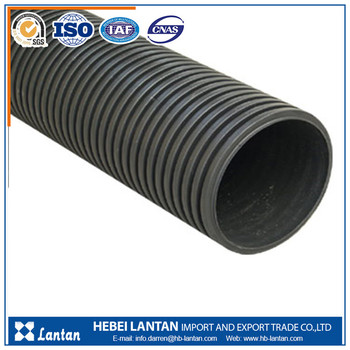 quality assured best price HDPE Double Wall Corrugated culvert pipe
