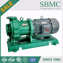 FEP lining ISO 2858 explosive chemicals 20 hp self priming pump manufacture