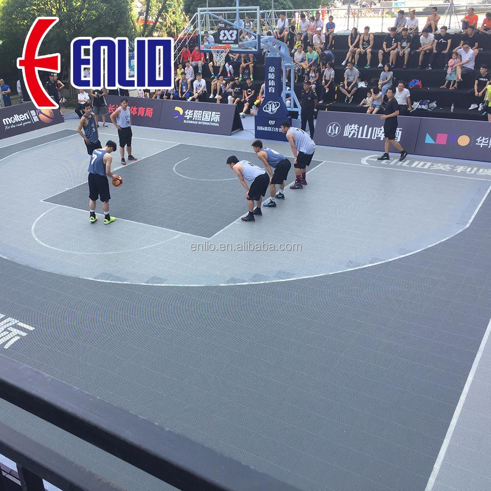 Cheap Outdoor Basketball Court Flooring Floor Tile Pp - Buy ...