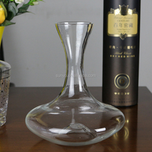 Hand Blown Unique Glass Grape Wine Decanter Carafe
