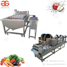 Easy Operation Carrot Dates Brush Cleaning Machinery Bubble Beet Cabbage Washing Machine Fruit Vegetable Washer Dryer