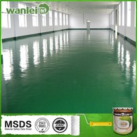 Double component high quality liquid plastic floor coating