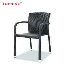 TOPHINE Outdoor Furniture Colored Wicker Chairs For Balcony
