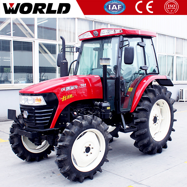 china made compact 4WD 70HP agricultural farm tractor