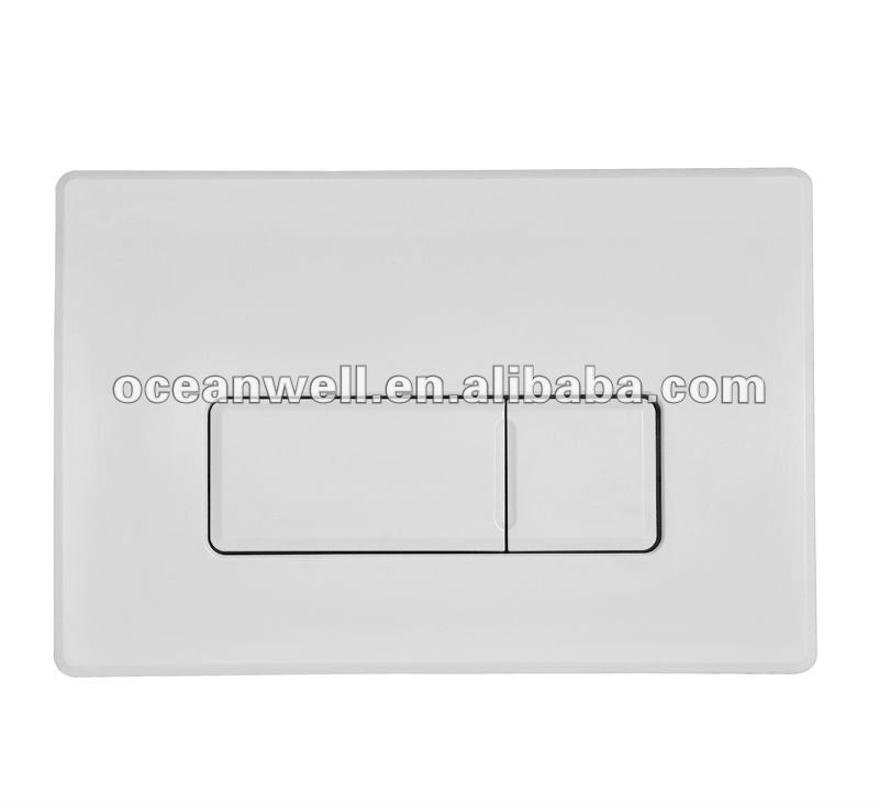 Bathroom Toilet Pneumatic Flush Plate for Concealed Cistern Made in China