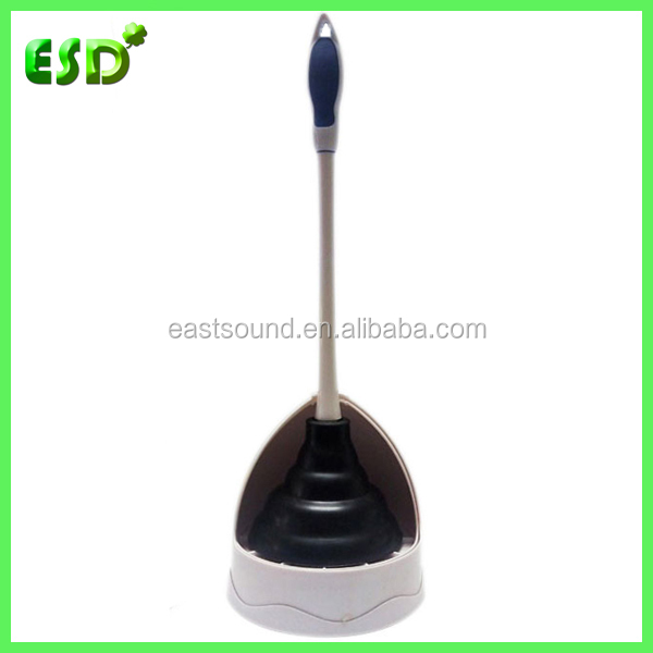 ESD Quality Custom Rubber Toilet Plunger With Holder Manufacturers