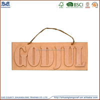 high quality handmade wooden garden sign supplier