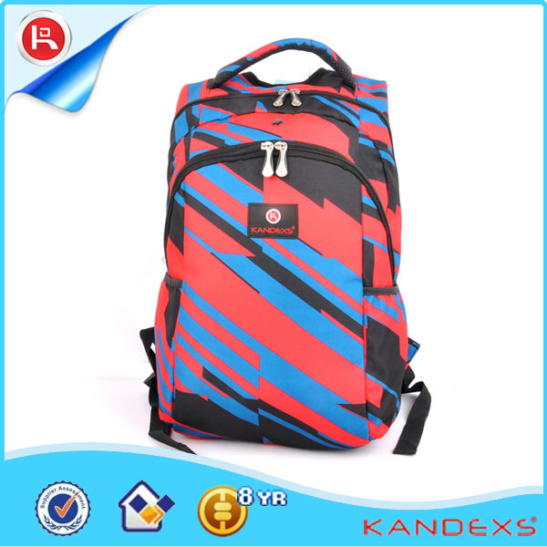 2013 Most Portable Stylish Colorful School Backpack