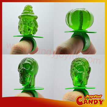 Fruity Flavor Halloween Candy Ring
