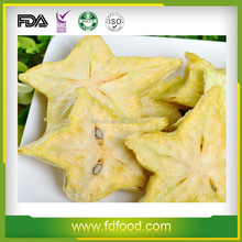 FD fruit bulk freeze-dried equipment Freeze dried carambola