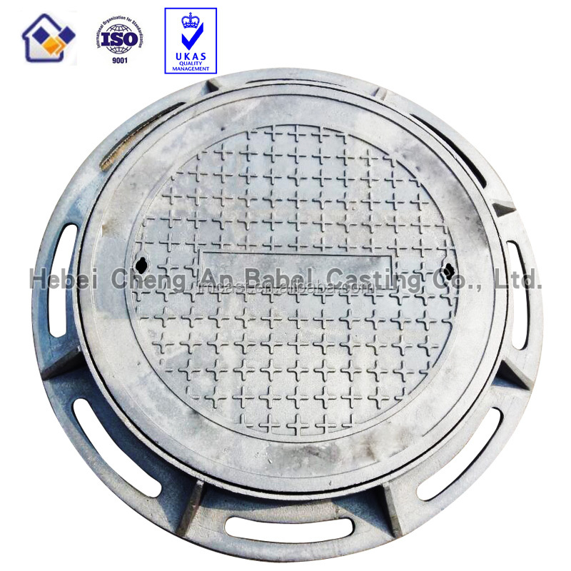 Round ductile foundry manhole coverDuctile Cast Iron Manhole Cover