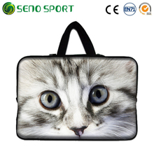 Cute 13 Inch Neoprene Laptop Sleeve With Zipper And Handle