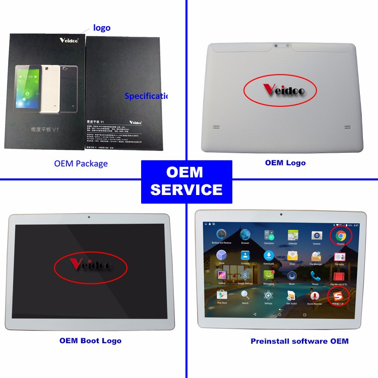Promotional Metal body 10inch 3G Quad Core phone call tablet 10