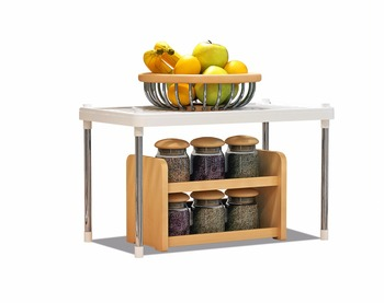 living room bathroom kitchen foldable metal make up towel vegetable storage rack shlef stand