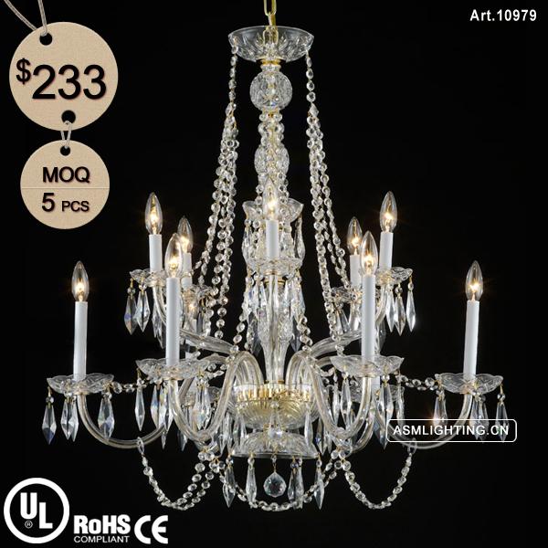 lampadario cristallo boemia : 12 Luce Lampadario Di Cristallo di Boemia per Matrimoni Decorazione ...