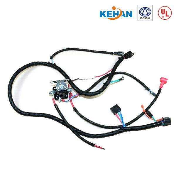 OEM ODM custom ISO9001 custom cable assembly & Rubber Adhesive pvc wire harness tape