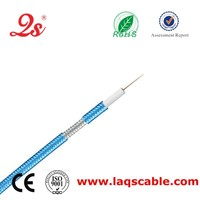 Cable factory rg6 coaxial cable,CE ISO RoHS certified cable rg6,number of conductors openbox c4s cable receiver