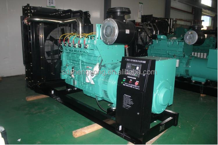 WEICHAI STYER engine,the Chinese brand first diesel generator set SD-120