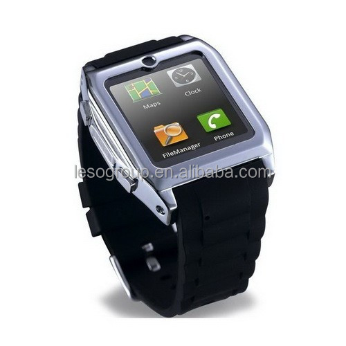 1.54 inch touch screen bluetooth smart watch phone quad band
